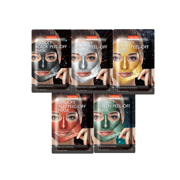 [PUREDERM] Galaxy Peel-Off Mask 10g