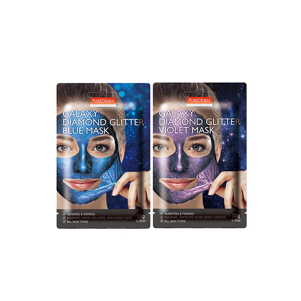[PUREDERM] Galaxy Diamond Glitter Mask 10g